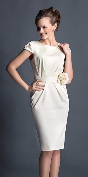 Платье-футляр Сливки с медом