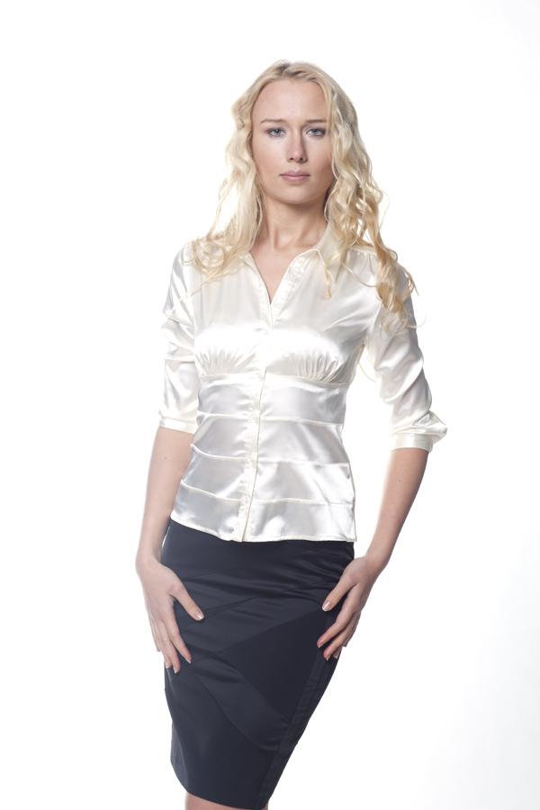 Купить модную белую блузку