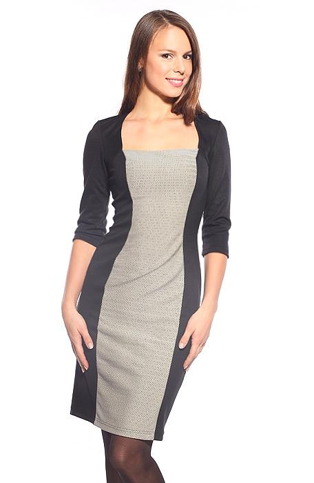 Черно серые платья фото