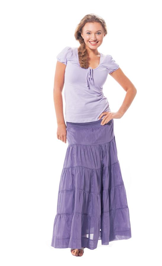 Недорогие юбки макси купить