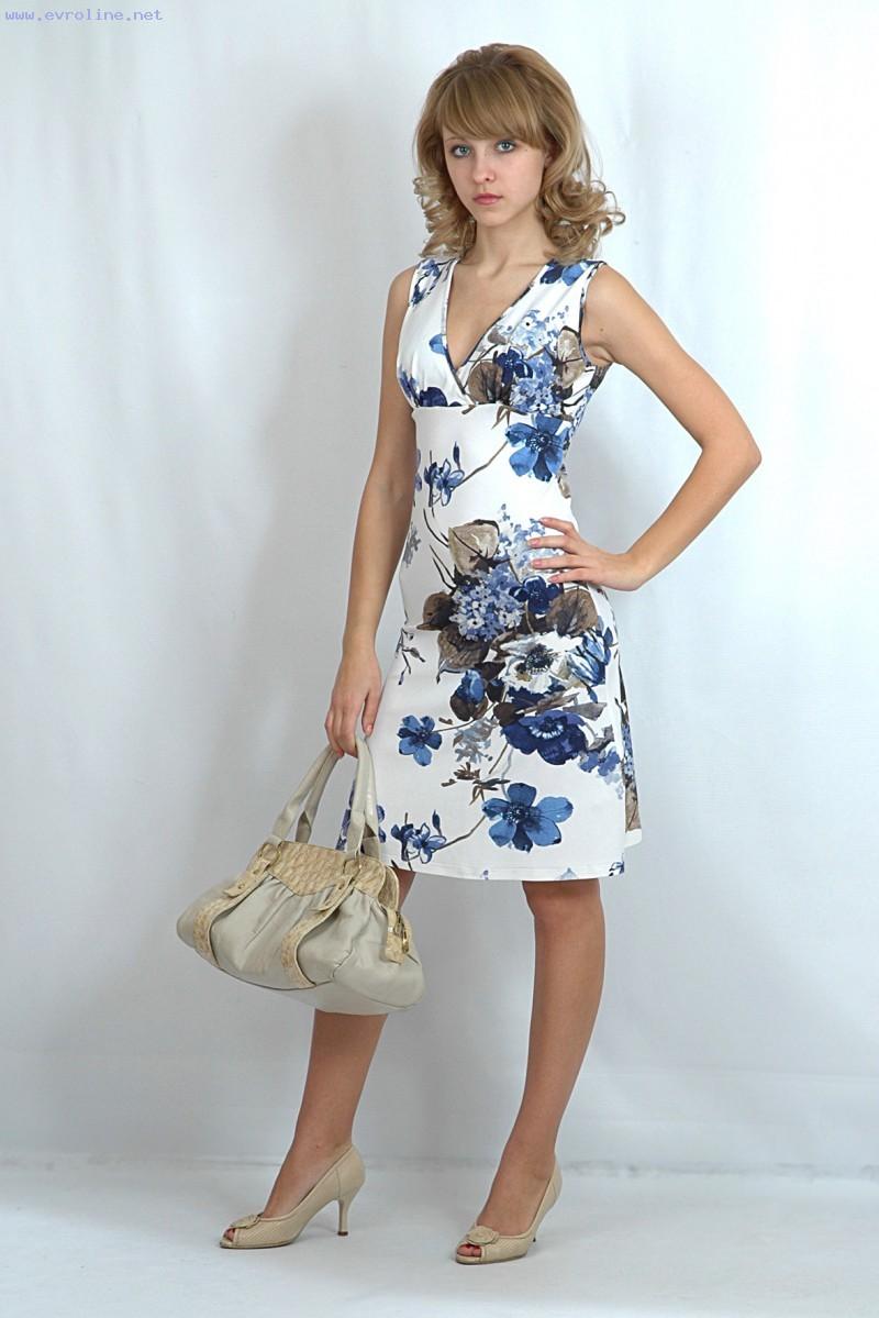 Летнее Платье Купить Фото
