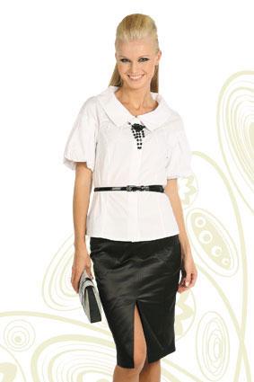 Выкройки женских блузок с коротким рукавом