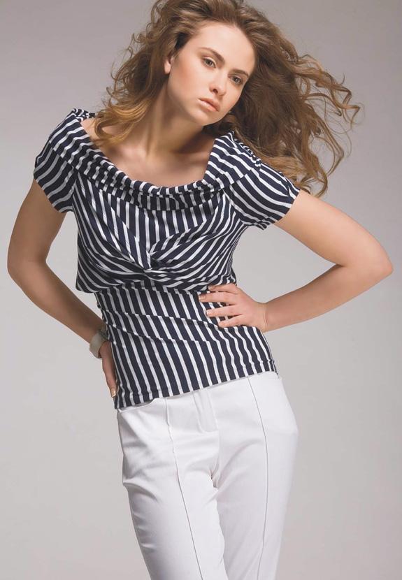 Как быстро сшить летнюю блузку без выкройки Шьем 68