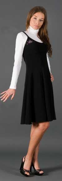Трикотажный сарафан - одежда на любой случай