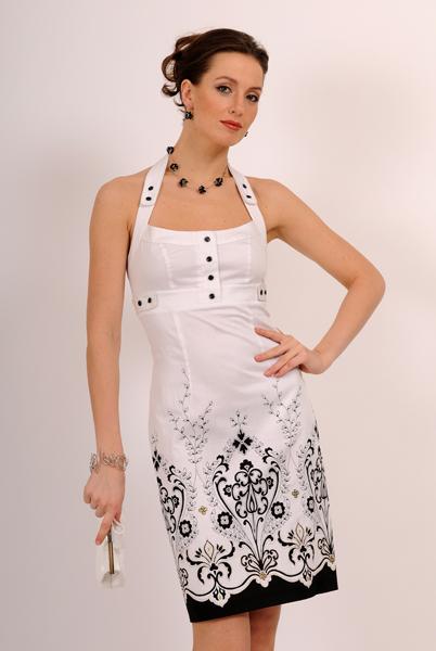 фасоны летних платьев и сарафанов из гипюра.